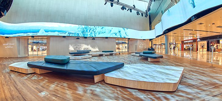 Finavia enhances customer experience at Helsinki Airport with opening of new Aukio extension