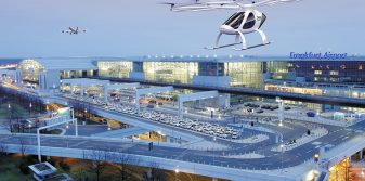 Fraport and Volocopter developing airport infrastructure and passenger processes for air taxi services