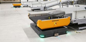 Rotterdam The Hague Airport future-proofing baggage handling with autonomous vehicle technology