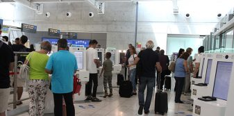 Pafos and Larnaka airports expedite border clearance with biometric-enabled kiosks