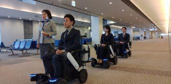 ANA partners with Panasonic to test power wheelchairs at Narita Airport