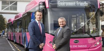Glasgow becomes first UK airport to introduce electric bus fleet