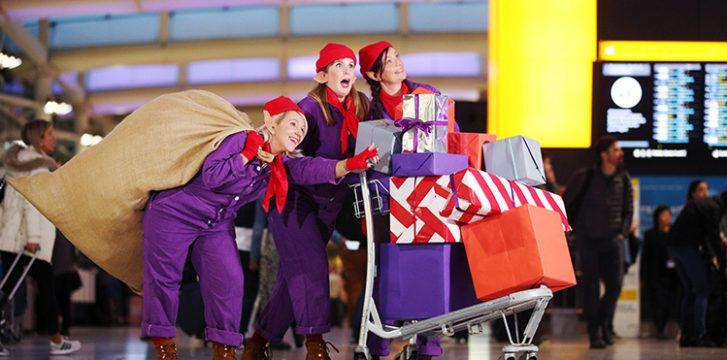Heathrow unveils Santa's workshop underneath Terminals 2 and 5