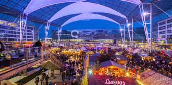 Munich Airport opens annual Christmas and Winter Market