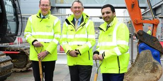 UK Aviation Minister officially marks start of Birmingham Airport's £30m departure lounge extension