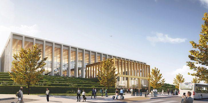 Leeds Bradford Airport unveils plans for more efficient, sustainable terminal building