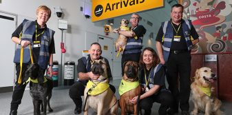 Southampton Airport launches Canine Crew for nervous passengers