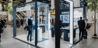 Capi collaborates with Samsung in launch at Amsterdam Airport Schiphol