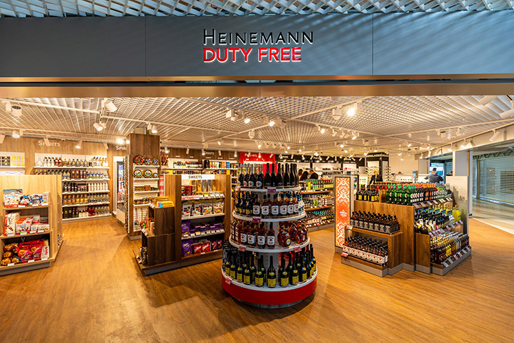 kiev borispol airport duty free shop