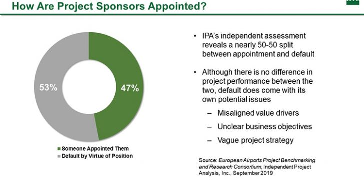 Why strengthening the project sponsor's role can improve airport modernisation investments