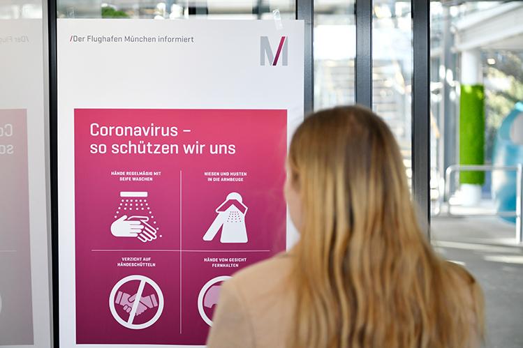 flughafen münchen coronavirus