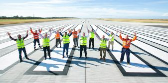 Brisbane Airport's new runway reaches practical completion