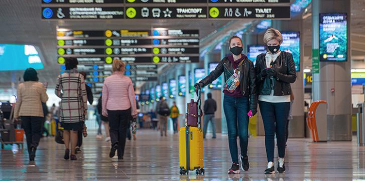 Passengers can get a COVID-19 antibody test at Moscow Domodedovo Airport