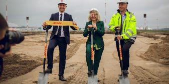 Construction of Baltics' most advanced express shipment handling centre starts at Riga Airport
