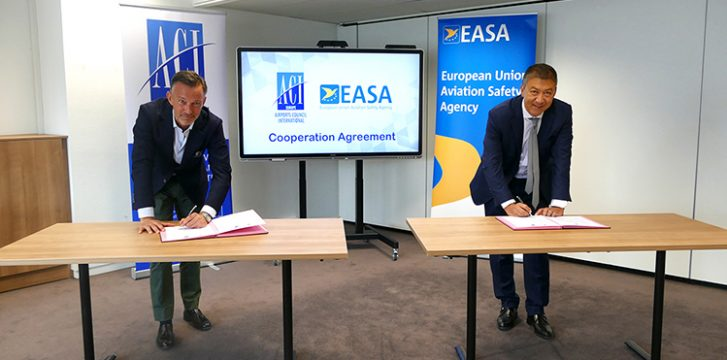 ACI EUROPE and EASA sign Cooperation Agreement as airport industry publishes Guidelines for a Healthy Passenger Experience