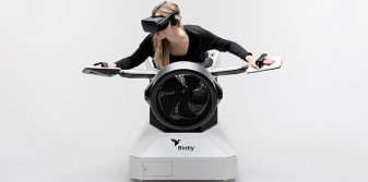 Birdly® brings visitors back to the airport