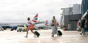 International flights resume from London City Airport