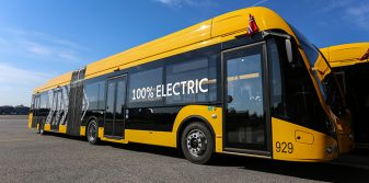 Avinor Oslo Airport becomes first in Nordics with electric buses between plane and gate