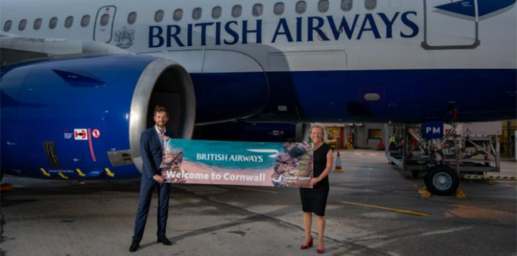 British Airways to make Cornwall-Heathrow link even more successful