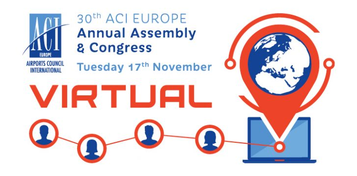 ACI EUROPE announces unique Annual Congress & General Assembly, 17 November 2020