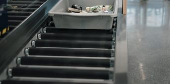 Finavia piloting UVC technology to disinfect security control trays after each use