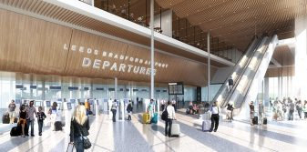"Leeds Bradford Airport aims ""to profoundly change perception and reality of customer experience"" with proposed new terminal"