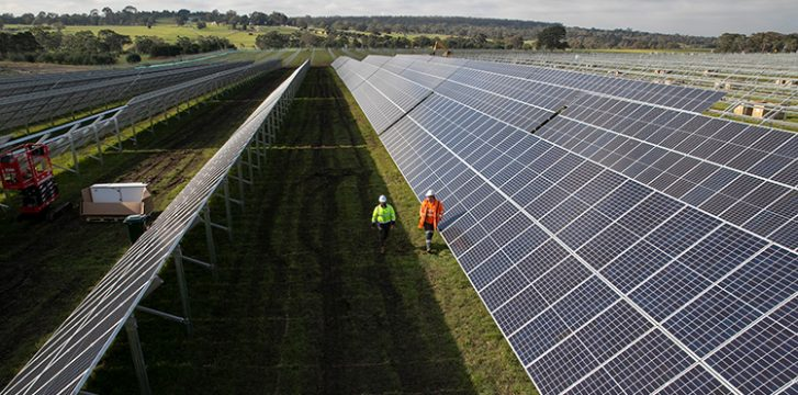 Delivering Australia's largest airport solar energy installation