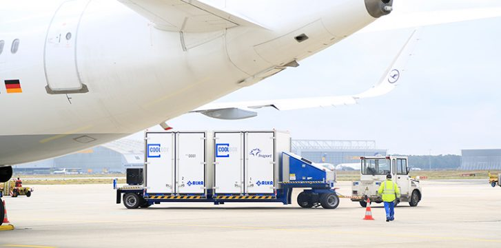 Fraport expands fleet of temperature-controlled transporters at Frankfurt Airport
