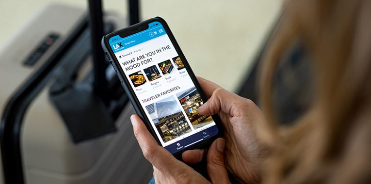 Los Angeles International Airport expands mobile, contactless F&B ordering