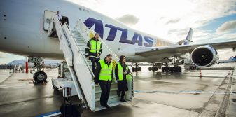 New specialised cargo handling apron opens at Riga Airport