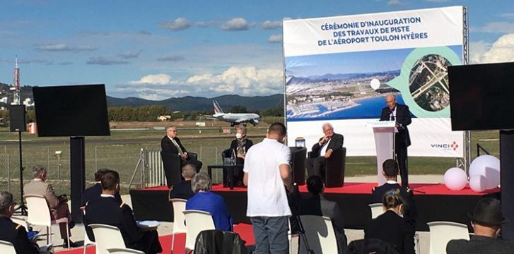 VINCI Airports delivers modernisation works for Toulon Hyères Airport