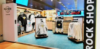 Hard Rock Cafe opens new pop-up shop at Hamburg Airport