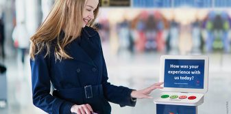 Avinor partners with HappyOrNot to boost customer experience at security