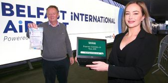 Belfast International Airport announces COVID partnership with Randox