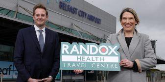 Belfast City Airport announces COVID testing centre with Randox
