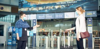 Helsinki Airport wins two awards: best airport in Europe in its size category and recognition for hygiene measures during COVID-19
