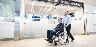 Prague Airport assumes management of passenger assistance services
