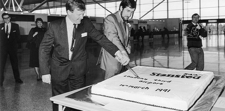 London Stansted Airport marks 30th anniversary of official opening