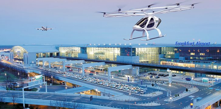 Electrically Powered Air Taxis – coming to an airport near you?