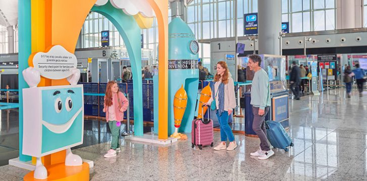 """""""Now is the time for kids to fly"""" at Istanbul Airport"""